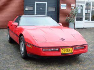 Chevrolet Corvette 1984 Rood