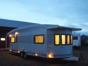 HOBBY Landhaus 770 CL PRESTIGE GAIABAO bj.2014, met VOORTENT