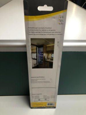 Vastzetbeugel voor kast of koelkast
