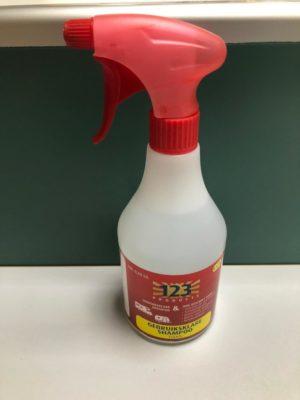 123 gebruiksklare shampoo