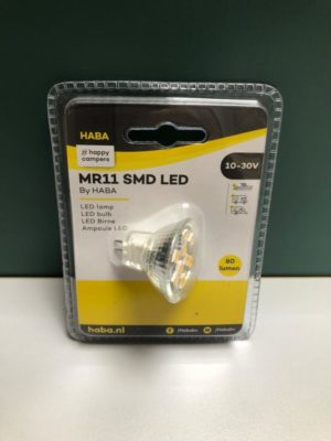 Led lamp 10-30V 80Lumen 35x35mm