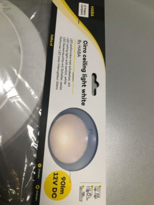 led plafondlamp met schakelaar wit