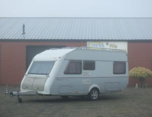 KIP PLATINUM 47 TDB bj.2002, met MOVER, FRANS BED