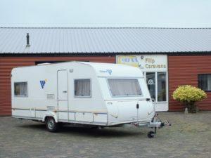 KNAUS Vimara 500 TK bj.2002, 5 SLAAPPLAATSEN, met VOORTENT