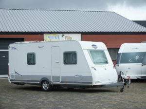 CARAVELAIR Ambiance Style 475 bj.2011, MOVER DOUCHE VOORTENT